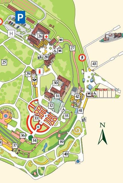 Insel Mainau Karte.Karte Insel Mainau Bei Konstanz Bodensee Insel Plan Mit Legende
