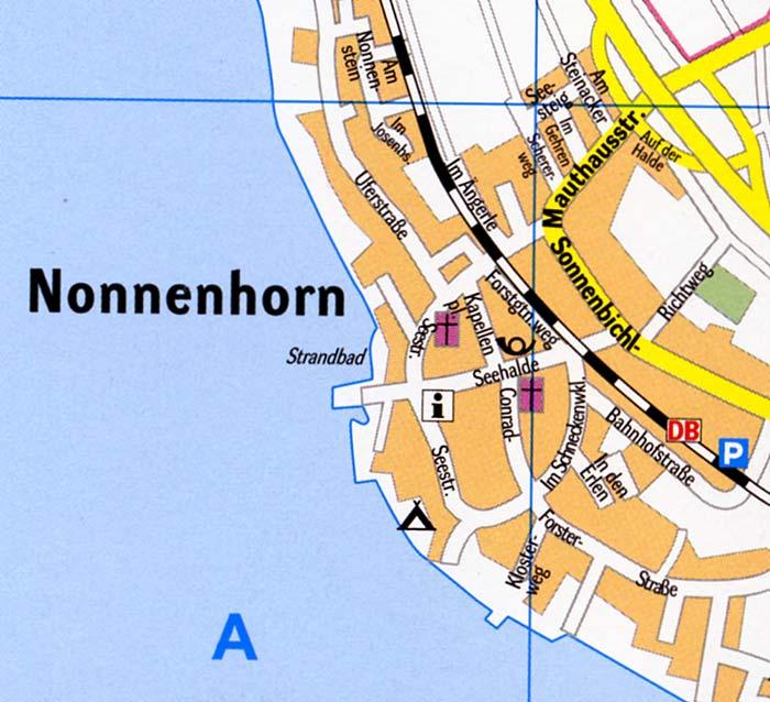 nonnenhorn bodensee karte Stadtplan Nonnenhorn Bodensee (Ortsplan)   Stadtplan, Stadtpläne