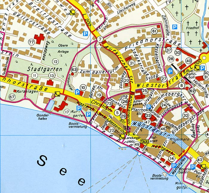 karte bodensee überlingen Karte Bodensee überlingen | goudenelftal