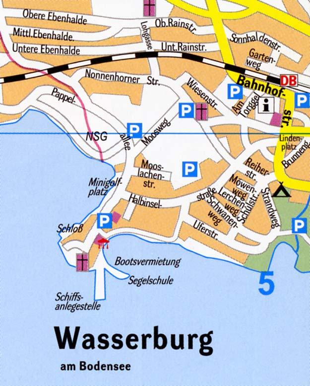 wasserburg bodensee karte Stadtplan Wasserburg Bodensee (Ortsplan)   Stadtplan, Stadtpläne